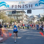 Ron Philley from Birmingham Alabama wins the inaugural 30A Thanksgiving 10K