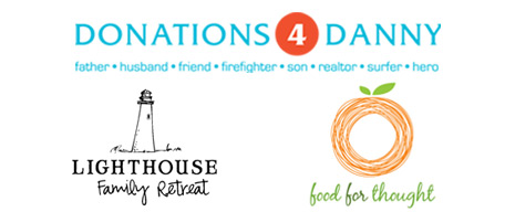 30A 10K Beneficiaries - Donations 4 Danny, Lighthouse Family Retreat, Food For Thought