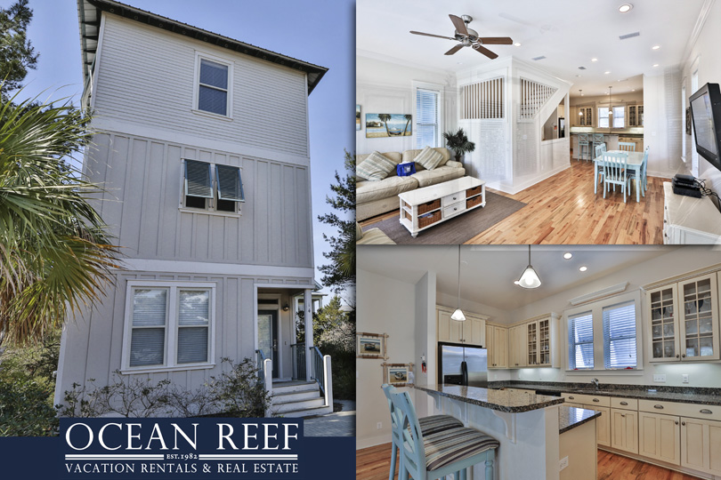 Ocean Reef's Lazy Days home in Seacrest Beach on Scenic 30A