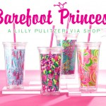 Barefoot Princess Lilly Pulitzer Tumbler