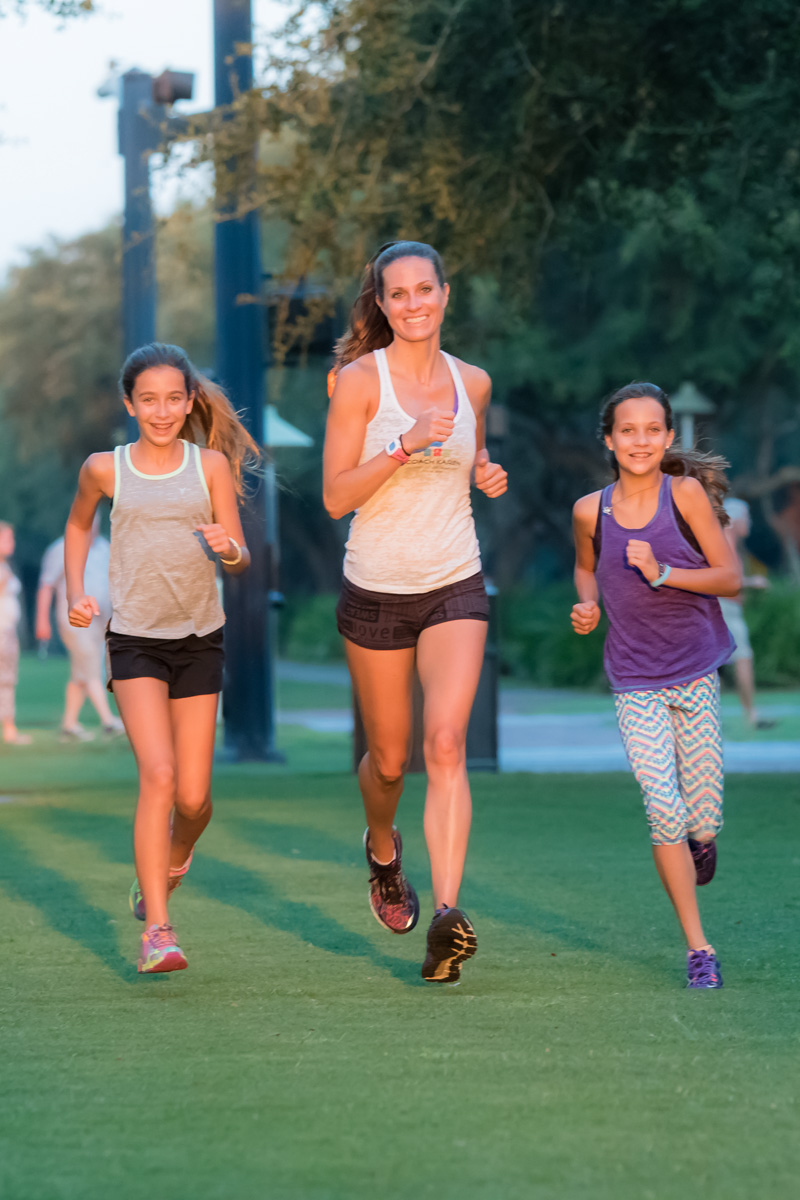 30A 10K Runners - Avery Carter, Lindsey Vanatta Smith, Portia Baranowski